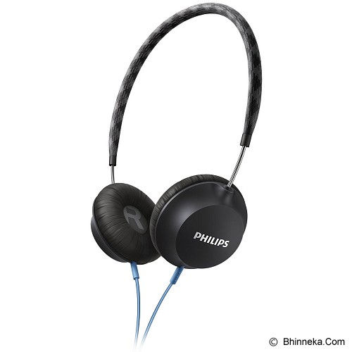 PHILIPS Strada On Ear CitiScape Headband Headphones [SHL 5100BK] - Black - Headphone Portable